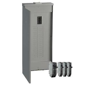 Ge 200 amp 32 space 40 circuit Copper bus Home Outdoor Main breaker box Panel