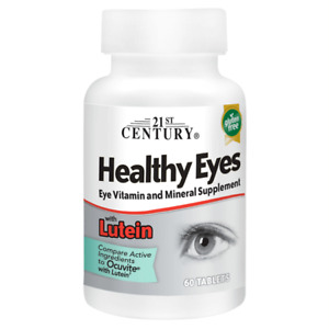 21st Century Healthy Eyes with Lutein 60 Tabs $6.63