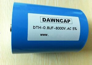 8000v Ac 0 8uf 10 Hv Pulse Capacitor Large Current Resonant Capacitor 1073 Xh