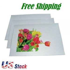 Us Stock 100shees pack A4 Heat Transfer Paper For T shirt Printing White Color