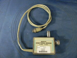 Agilent 85021a Directional Bridge 30 Day Warranty