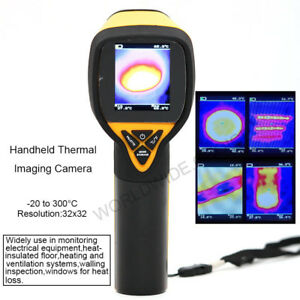 Infrared Thermal Camera Imaging 32x32 Temperature 20 To 300 Degree Ht 175
