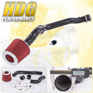 For 88 91 Honda Civic Crx Sohc 1 5l 1 6l Red Filter Cold Air Intake System Kit
