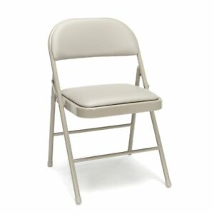 4 pack Padded Metal Folding Chairs