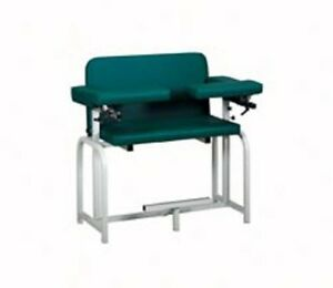 Pro Advantage Extra Tall Extra Wide Blood Draw Chair 2 Flip arms upholstered