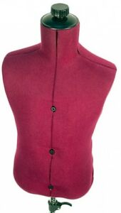 Mannequin Family Adjustable Child size Maroon Nylon Dress Form Sewing Clothing