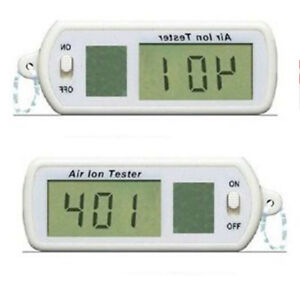 Portable Air Ion Tester Meter Counter ve Negative Ions With Peak Maximum Hold