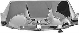 1947 53 Chevy Pu Hood Latch Panel Chromed Stainless