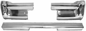 1964 Impala Bumper Rear 3 Piece Set 64