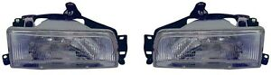 88 92 Toyota Corolla Headlight Pair Set Both New Sedan 2wd Wagon Only