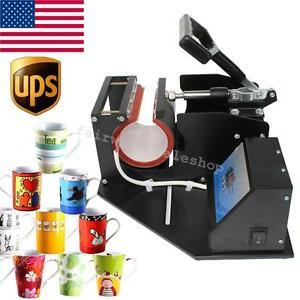Amazing Dual Digital Lcd Heat Press Transfer Sublimation Machine Printing New Us