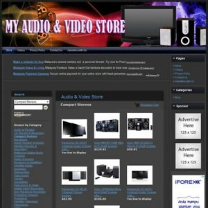 Audio Video Store Easy to operate Highly Profitable Internet Home Business