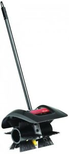 Power Sweeper Broom Attachment 12 Inches Power Brush Black Plastic Trimmerplus