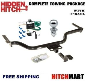 Class 1 Trailer Hitch Package W 2 Ball For 1999 2003 Mazda Protege