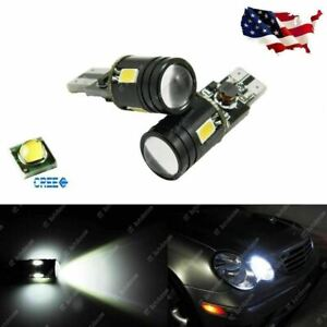 Error Free Canbus White 9w T10 192 921 2825 Led Bulbs For Front Parking Light