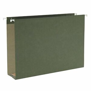 Smead 100 Recycled Hanging Box Bottom File Folder 2 Expansion Legal Size 25