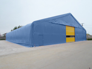 Steel Frame Storage Building Industrial Portable Temporary Commercial Warehouse