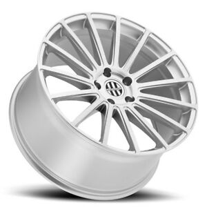 19 Victor Sascha Rotary Forged Silver Wheels Porsche 911 Turbo C4s 996 997