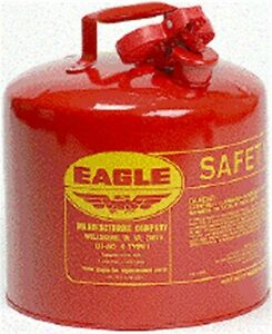 Part Ui 50 s 5 Gal Safety Gas Can By Eagle Mfg Single Item Great Value New I