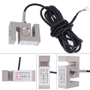 S Type High Precision Metal Load Cell Scale Weighting Sensor 1000kg 2204lb