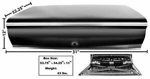 1962 64 Nova Deck Lid Rear 62 64