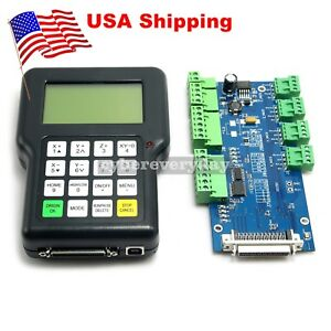 Dsp0501 3 axis Engraving Machine Controller Cnc Dsp Handle Remote Control Usa