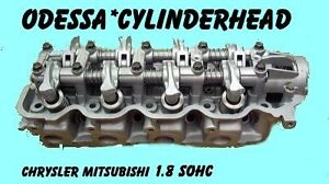 Chrysler Mitsu Dodge Laser 1 8 Sohc Cylinder Head Engine Fam 4g37 94 94 No Core