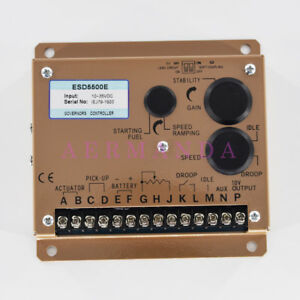 Speed Control Unit Esd5500e Diesel Engine Governor Controller Generator Parts