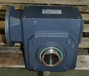 Morse Raider 325q56h50 Shaft Right Angle Speed Reducer Gearbox 50 1 Ratio