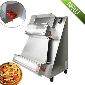 Dhl Auto Pizza Bread Dough Roller Sheeter Machine Pizza Making Machine 370w 110v