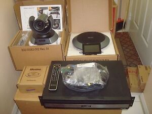 Lifesize Icon 800 Dual Display Video Conferencing W camera 10x 2nd Gen Phone mp