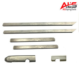 Tapeworm 4 Angle Head Drywall Corner Finisher Replacement Blade And Bullet Kit