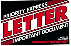 Priority Express Letter Envelopes 6 X 9 500 lot