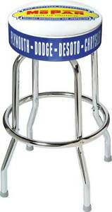 1948 53 Mopar Parts And Accessories Logo Counter Stool
