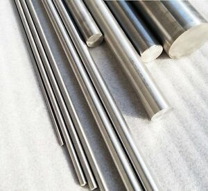 10 Pcs Titanium Ti Grade 5 Gr 5 Gr5 Metal Rod Diameter 4mm Length 50cm Gy