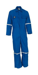 Wenaas 89334 Mens Fr Coverall Nomex Aramid Lightweight Flame Retardant Overall