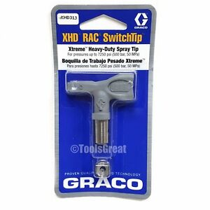 Graco Xhd313 Xtreme Heavy Duty Paint Sprayer Spray Tip 313