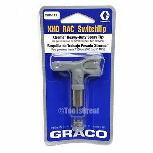 Graco Xhd317 Xtreme Heavy Duty Paint Sprayer Spray Tip 317