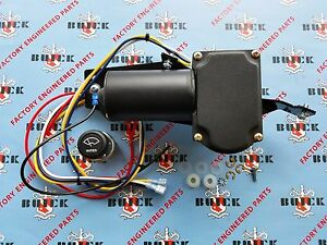 1951 1952 1953 Buick Special Electric Wiper Motor Kit 12v Hardware Included