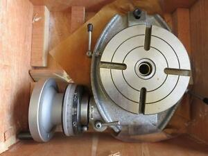 New Enco Phase Ii Horizontal Rotary Table 6 Dividing Plates 220 006 Nib