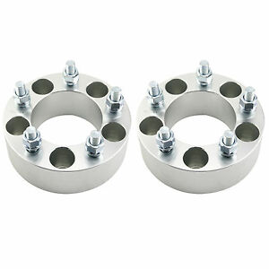 2x 5 Lug Wheel Spacers Adapters 5x4 75 To 5x4 75 12x1 5 Studs 2 Inch