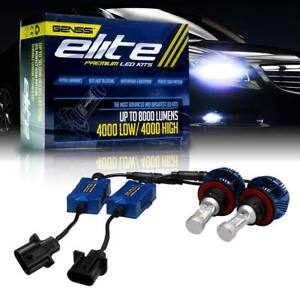 Authentic G7 Elite Series Led Headlight Conversion Kit H13 Bulbs 6000k