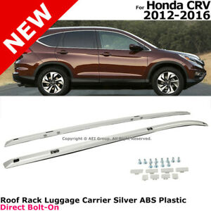 For Honda Cr v 2012 2016 Silver Roof Rails Luggage Cargo Rack Suv Top Cross Bars