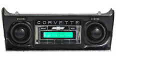 1968 1976 Chevrolet Corvette Usa 230 Am fm Radio Aux Input Mp3