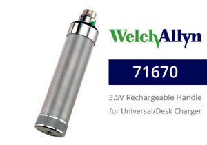 Welch Allyn 71670 Rechargeable Nicad Handle For Desk well Chargers