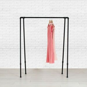 Industrial Style Pipe Garment Rack A frame By William Robert s Vintage