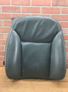 04 10 Saab 9 3 93 Convertible Upper Seat Skin Leather Passenger Front Right