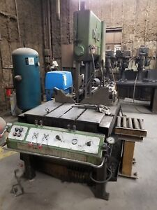 14 Dp X 21 Tall Doall Hyd Tilting Frame Vertical Band Saw tf 1421 230 3 60