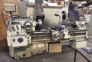 Lodge Shipley Avs Vari speed Engine Lathe 20 5 Swing 54 Bc 3 jaw Chuck W dro