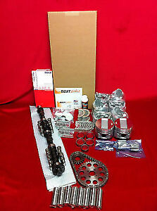 Buick 322 Master Engine Kit 1954 55 Pistons Bearings Gaskets Rings Lifters Cam